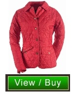 Barbour Red Quilted Jacket